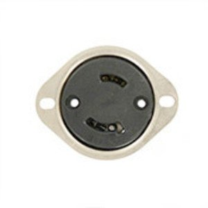 Leviton 7526-C Flanged Outlet