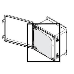 "Hoffman A1210PSWPNL 12"" x 10"" Swing-Out Panel"