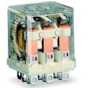 Square D 8501RS14V20 Relay, Ice Cube, 5A, 240VAC, 120VAC Coil, 4PDT, 14 Blade