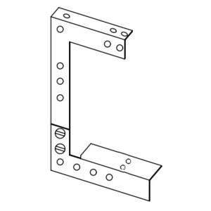 Hoffman F44GDB Wireway Drop/Bracket Hanger