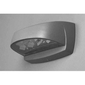 Exceline GSM7T Wallpack, LED, 13W, 120-277V, Titanium Gray