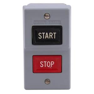 GE Industrial CR101JA1A Manual Starter, 2P, NEMA 1, Enclosure, START/STOP, Pushbutton