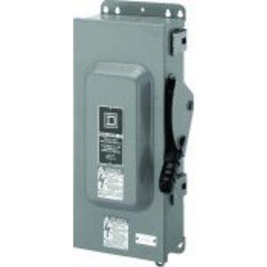 100 Amp Disconnect >> Square D H363awk Square D H363awk Disconnect Switch Fusible Nema