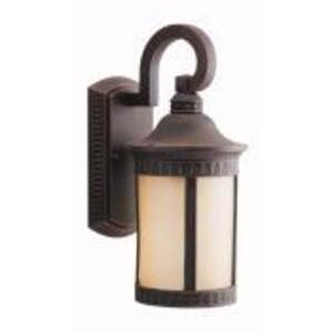 Kichler 10903PR 13W Wall Lantern, Prairie Rock
