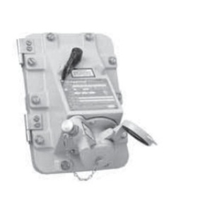 Appleton JBR3034150 Switched Receptacle, 30A, 4P3W, 600V, Dead Front, NEMA 3/3R/4/4/X