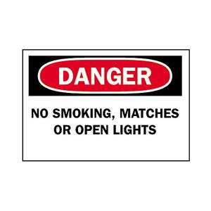 Brady 42658 NO SMOKING SIGN