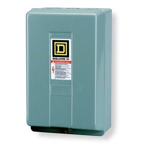 Square D 8903LG80V02 Contactor, Lighting, 30A, 600VAC, 8P, NO, 120VAC Coil, NEMA 1