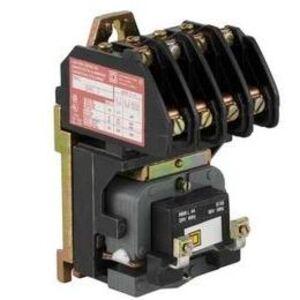 Square D 8903LG60V02 Contactor, Lighting, 30A, 600VAC, 6P, NO, 120VAC Coil, NEMA 1