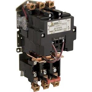 Square D 8536SFO1V02S Starter, Size 4, 135A, 600VAC, 120VAC Coil, Non-Reversing, Open, 3P