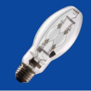 Venture Lighting MH100W/U/PS Metal Halide Lamp, Pulse Start, ED17, 100W, Clear