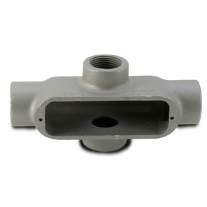 "Appleton X50-M Conduit Body, Type X, 1/2"", Form 35, Malleable Iron"