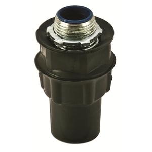 """Plasti-Bond PR5333 Liquidtight Connector, Straight, 3/4"""", PVC Coated Steel"""