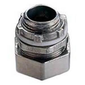 "EGS 7400S EMT Compression Connector, 4"", Steel, Concrete Tight"