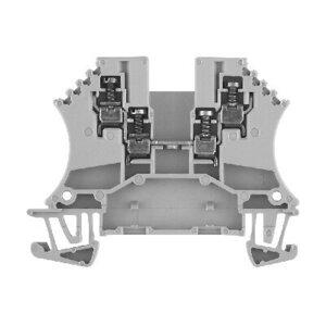 Allen-Bradley 1492-J2Q Terminal Block, 25A, 300V AC/DC, Specialty, Gray, 1.5mm