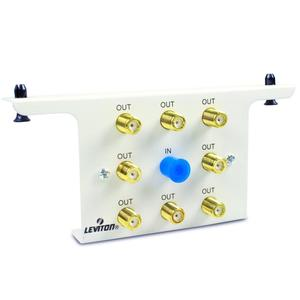 Leviton 47690-8C2 Module, 1 x 8 Passive Video Splitter, 2 GHz, LIN Integrated Network