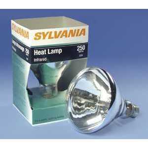 SYLVANIA 250BR40/1-120V Incandescent Lamp, BR40, 250W, 120V