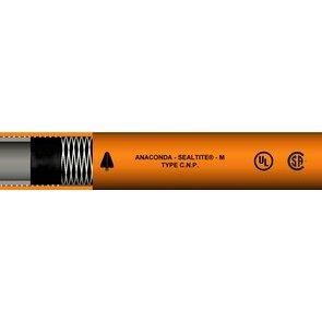 "Anamet 38612 Liquidtight Flexible Non-Metallic Conduit, Type CNP, 1/2"", Orange, 100'"