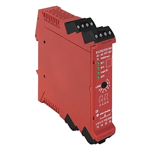 Allen-Bradley 440R-D22R2 Relay, Safety, Dual Input, 24VDC, for Safety Mats