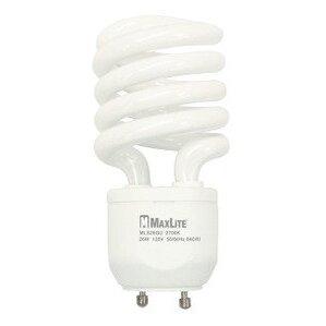 Candela MLS18GUWW Compact Fluorescent Lamp, Twist Lock, 18W, 2700K, GU24 Base