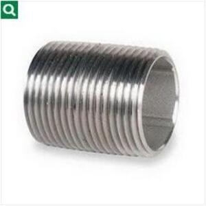 """Calbrite S405CLCN00 Stainless Steel Rigid Nipples, 1/2"""""""