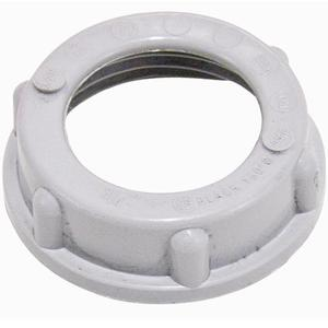 "Cooper Crouse-Hinds 931 Conduit Bushing, Insulating, 1/2"", Threaded, Plastic"