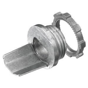 "Hubbell-Wiring Kellems HBL5781 Raceway Box Connector, Steel, 1/2"""