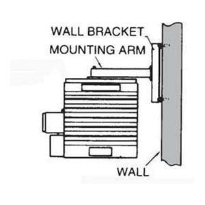 TPI HLWM37 Wall Mounting Kit