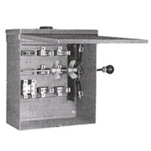 Square D 82344RB Safety Switch, Non-Fused, Double Throw, 200A, 600VAC, 3P, NEMA 3R