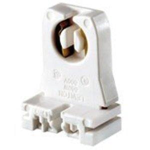 Leviton 13351 Fluorescent Lampholder, Medium Base, Slide-On, White