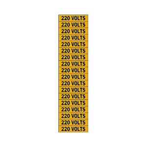 Brady 44307 Conduit & Voltage Marker