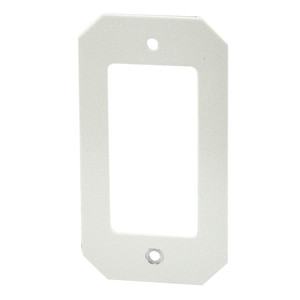 Wiremold 8DEC Device Mounting Plate, 1-Gang, Fits Decorator Style Devices