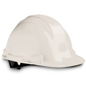 Safety Wear A79R-WHT Hard Hat, Ratchet, White