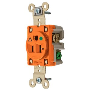 Hubbell-Wiring Kellems IG8310 SGL RCPT, IG, HG, 20A