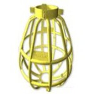 Bergen BC-200 Lamp Guard, Wire Type, Thermoplastic, Yellow