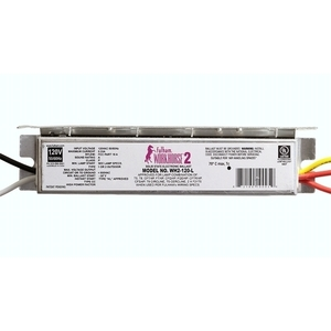 Fulham WH2-120-L Electronic Ballast, Fluorescent, T8, 1-Lamp, 32W, 120/230/277V