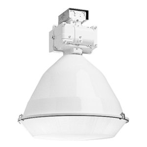 Hubbell - Lighting BL-400PV-LB1-WH-UPL Low Bay, Pulse Start, Metal Halide, 400W, 120/277V