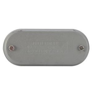 "Appleton 570F Conduit Body Cover, 1-1/2"", Type Wedge, Form 7, Iron Alloy"