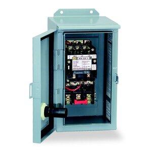 Square D 8536SCA3V08 Starter, Size 1, 27A, 600VAC, 208VAC Coil, Non-Reversing, 3P