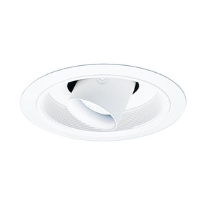 Juno Lighting 458-WWH 6IN LV TRIM CYL SPOT