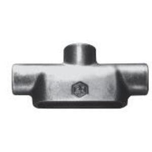 """Cooper Crouse-Hinds TB59 Conduit Body, Type TB, Size: 1-1/2"""", Mark 9, Material: Aluminum"""