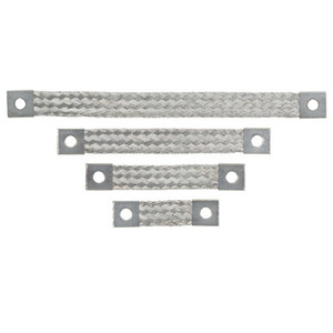 Panduit BS101245U Braided Bonding Strap, One-Hole, Non-Ins