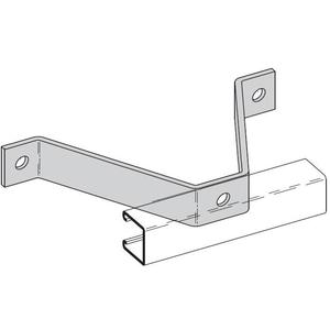 Cooper B-Line B383ZN Wall Ladder Bracket, 6 3/8-in., Zinc Plated