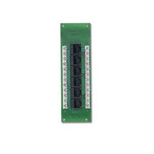 Leviton 47603-C5 Expansion Board, Cat 5E, Voice Date, for Structured Media Panels