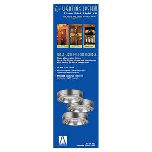 Sea Gull 9889-962 Disk Light, Xenon, 54W, 12V, Brushed Nickel