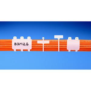 Panduit BM2M-C Marker Tie, Wrap, 7.9L (201mm), Miniatur