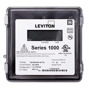 Leviton 1R120-21 200A, 1P, Series 1000, Single Element Meter