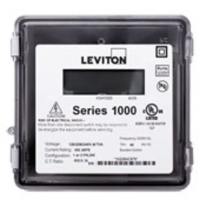 Leviton 1R120-11 100A, 1P, Series 1000, Single Element Meter