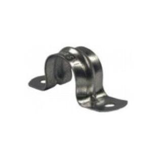 "Hubbell-Raco 2234 Rigid Conduit Strap, 2-Hole, 1"", Steel"