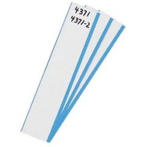 "Ideal 44-753 Write-On Marker Card, 5/8"" Width"