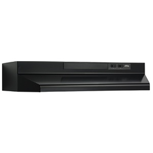 Broan F404223 Black Range Hood